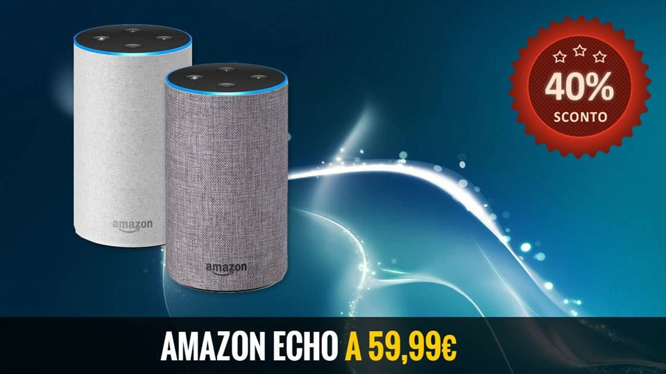 Amazon Echo a 59,99 euro - Offerta WOW - Amazon Prime Day 2019
