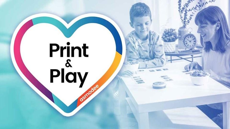 Asmodee: i giochi da tavolo Print e Play scaricabili gratuitamente per giocare stando a casa