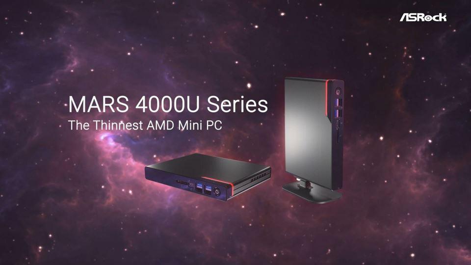 ASRock, in arrivò il mini PC con APU AMD più sottile al mondo