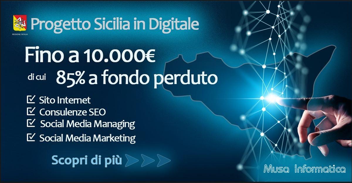 Contributo da 5 a 10 mila euro, fino all'85 a fondo perduto, per la comunicazione digitale