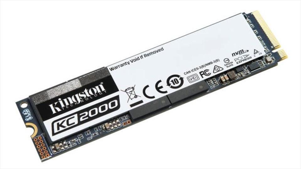 Kingston KC2000, nuovi SSD M.2 con memoria 3D NAND a 96 layer