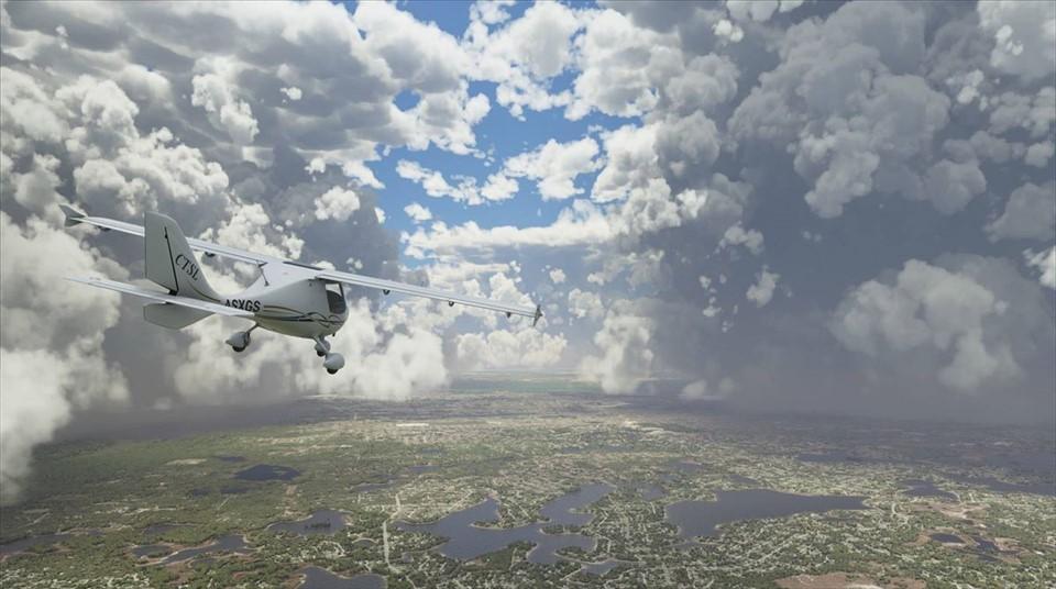 Microsoft Flight Simulator e realtà, ecco un confronto pazzesco in volo
