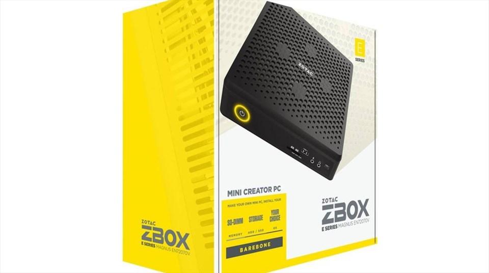 Zotac presenta i nuovi Zbox: grandi prestazioni in uno spazio minimo