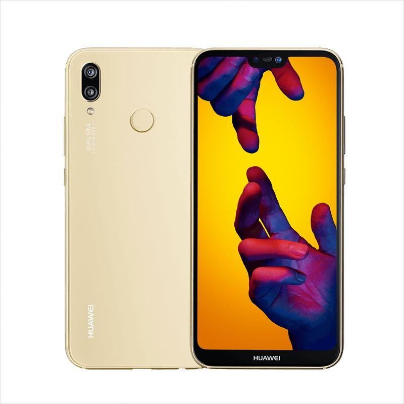 SMARTPHONE HUAWEI P20 Lite 51092KEK Gold 5,84 DualSim Kirin659 OC 2.36+1.7GHz 4GB 64GB 16+2+16Mpx 4G NFC FP Android 8.0
