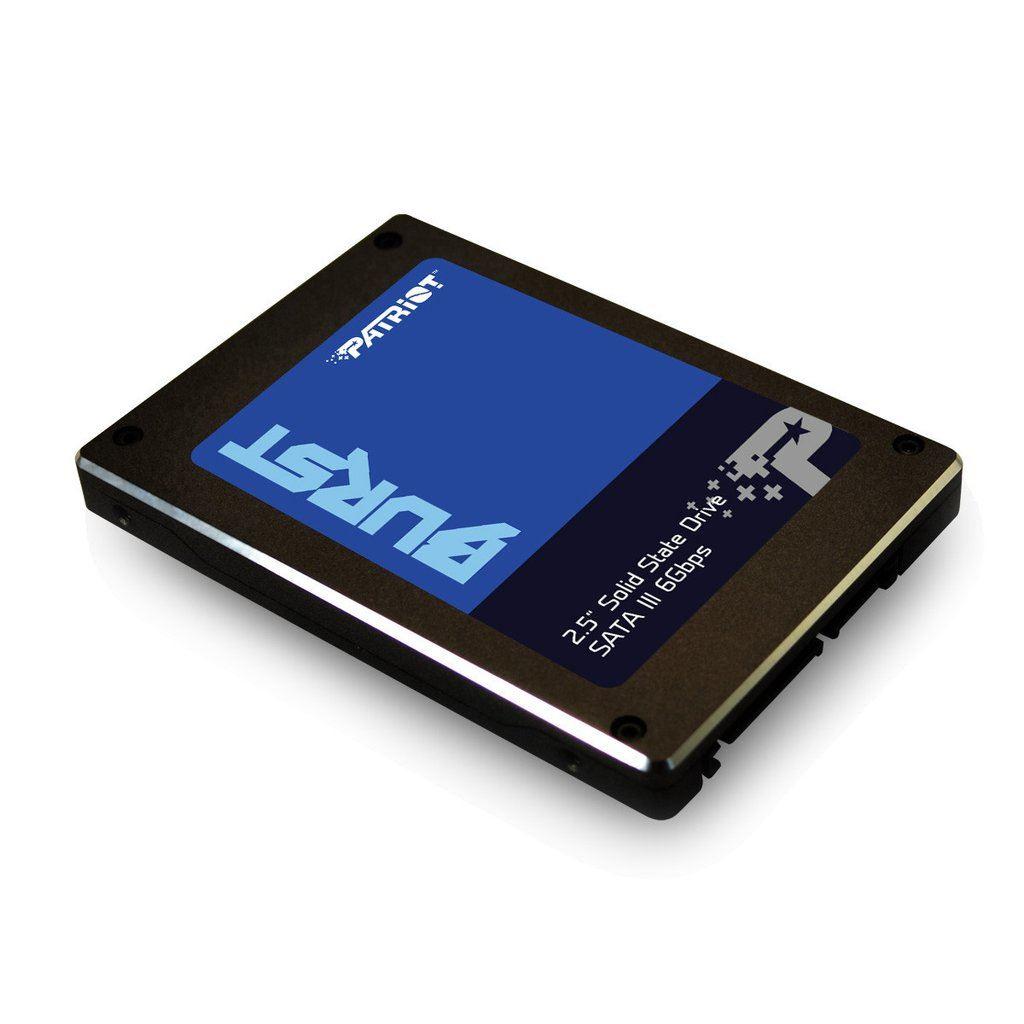 SSD PATRIOT BURST 2.5 480GB SATA3 READ:560MB/WRITE:540 MB/S - PBU480GS25SSDR