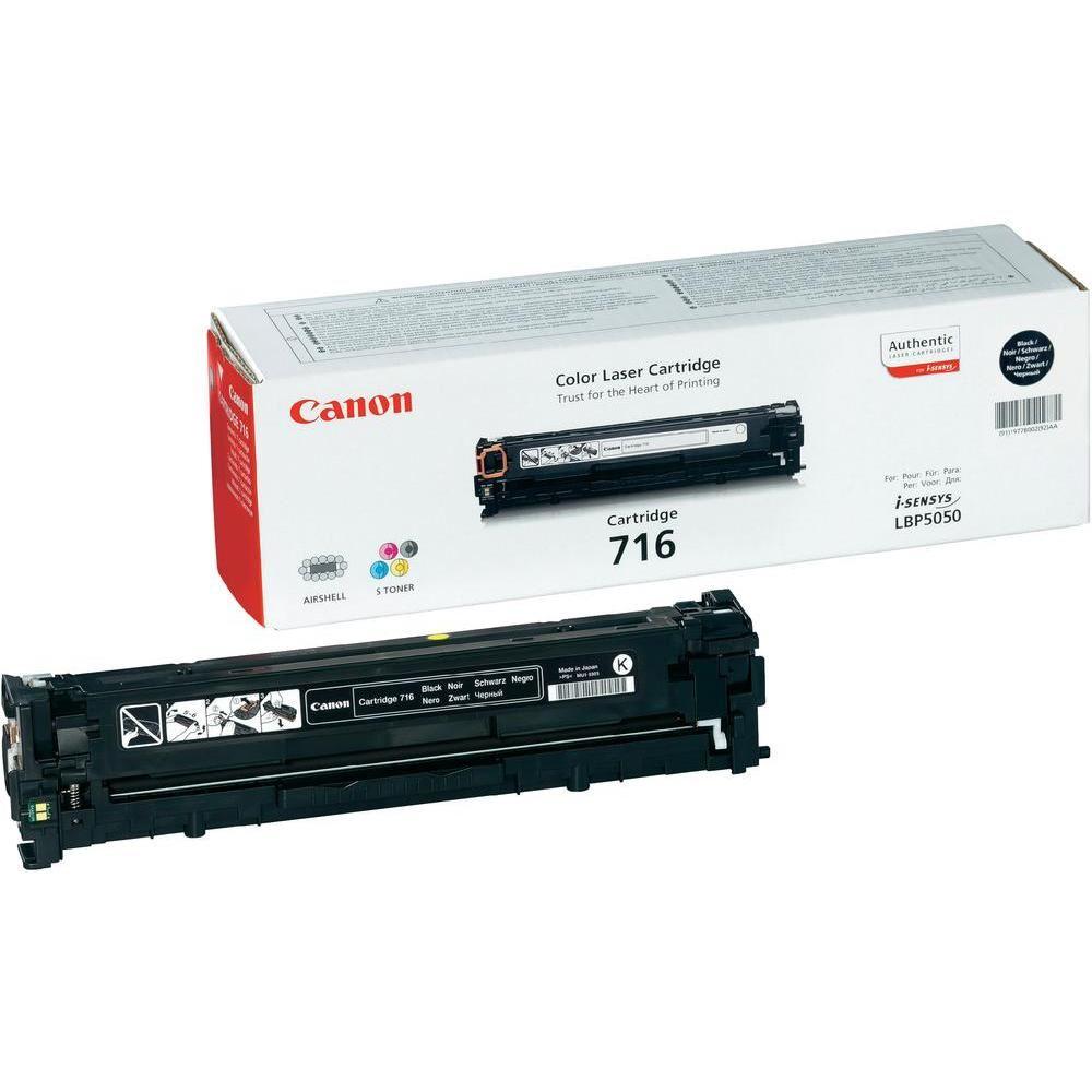 TONER CANON 716 BK Nero 2300PP X LBP5050, LBP5050N