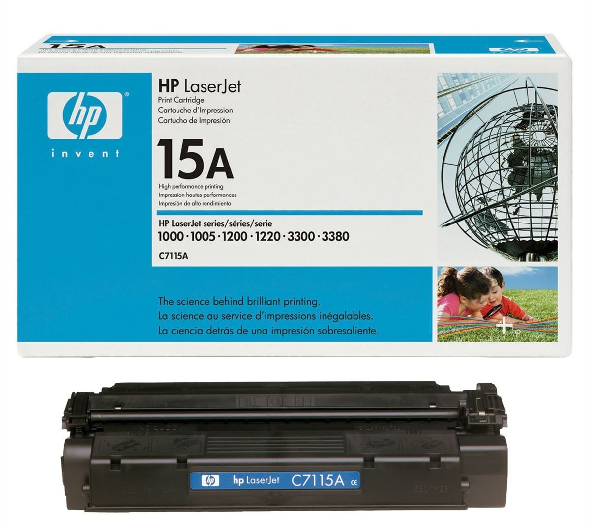 TONER HP C7115A 2500PP X STAMPANTE LASERJET 1000, 1200, 3300